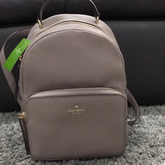 amazing selection many fashionable outlet boutique NWT Kate Spade Mini Nicole grey backpack purse NWT